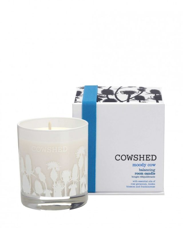 Cowshed Moody Cow Balancing Room Candle, £22.50 cowshedonline.com review