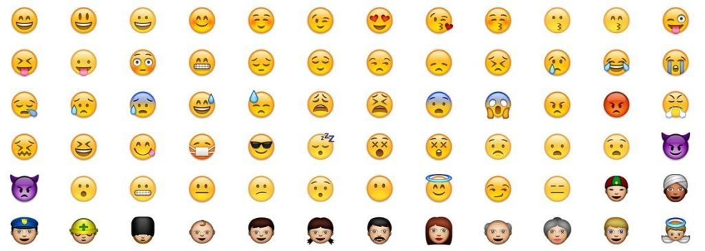 What does the kissy face emoji really mean