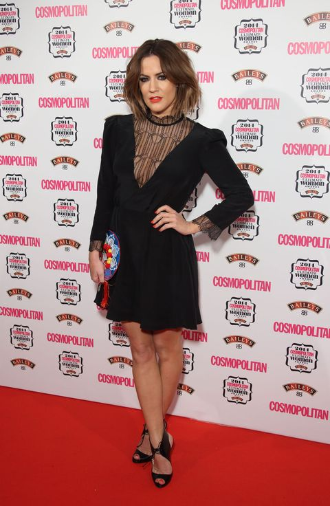 Caroline Flack at Cosmopolitan Awards 2014