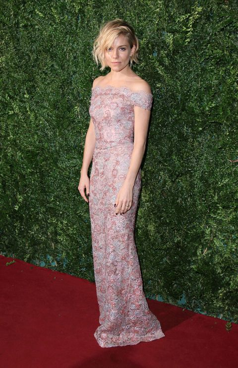 Sienna Miller at the London Evening Standard Theatre Awards
