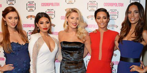 92a0f76b90 Cosmopolitan Ultimate Women Awards 2014  The Saturdays - best celebrity  beauty looks
