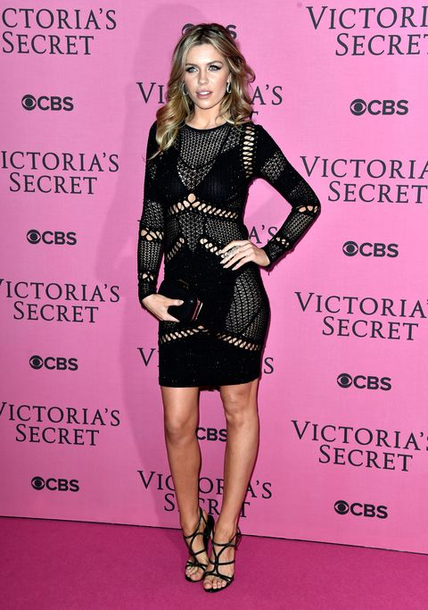 All the celebs at the Victoria's Secret runway show