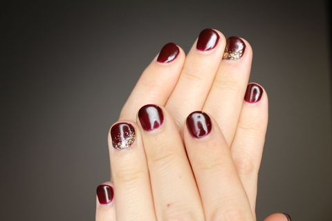Finger, Skin, Nail, Red, Nail care, Manicure, Nail polish, Pink, Toe, Beige,