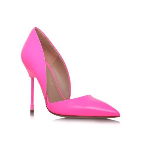 Footwear, Magenta, Pink, Basic pump, Purple, High heels, Sandal, Maroon, Tan, Beige,