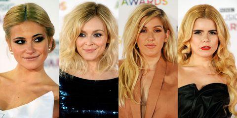 Hot hairstyles at the BBC Music Awards 2014