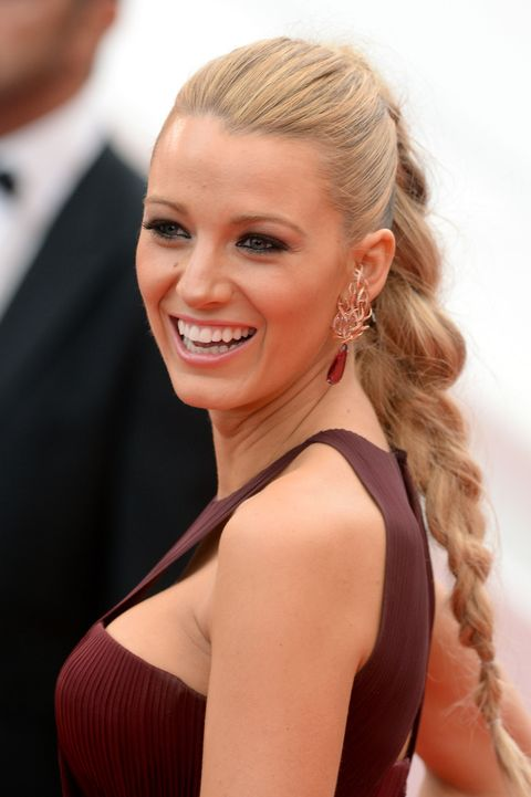 Blake Lively party hair inspiration - and how to recreate the hairstyles - best celebrity party hairstyles 2014