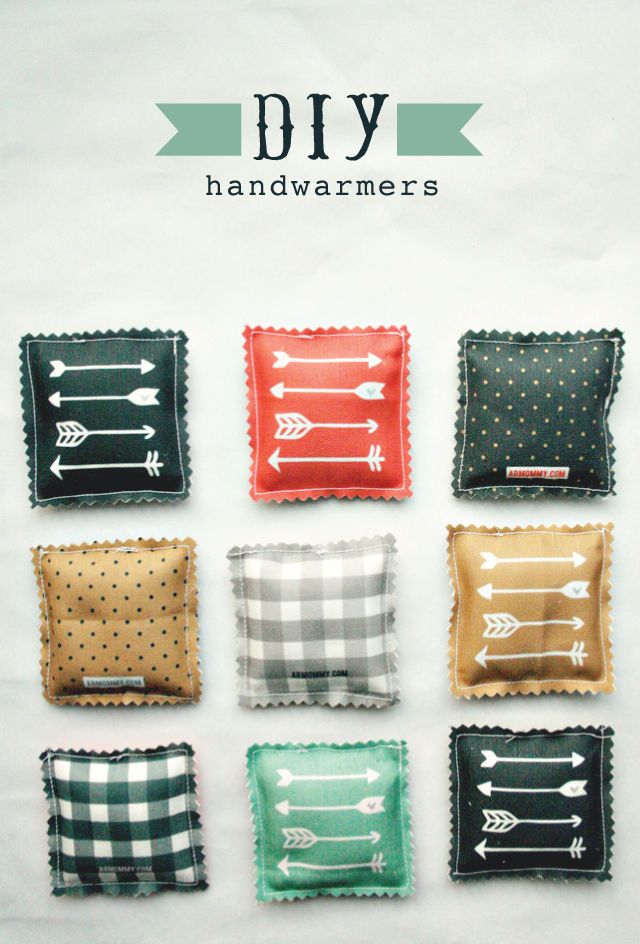 DIY Christmas gifts - Crafty Microwave Handwarmers & Handmade Christmas gifts | DIY Christmas gifts