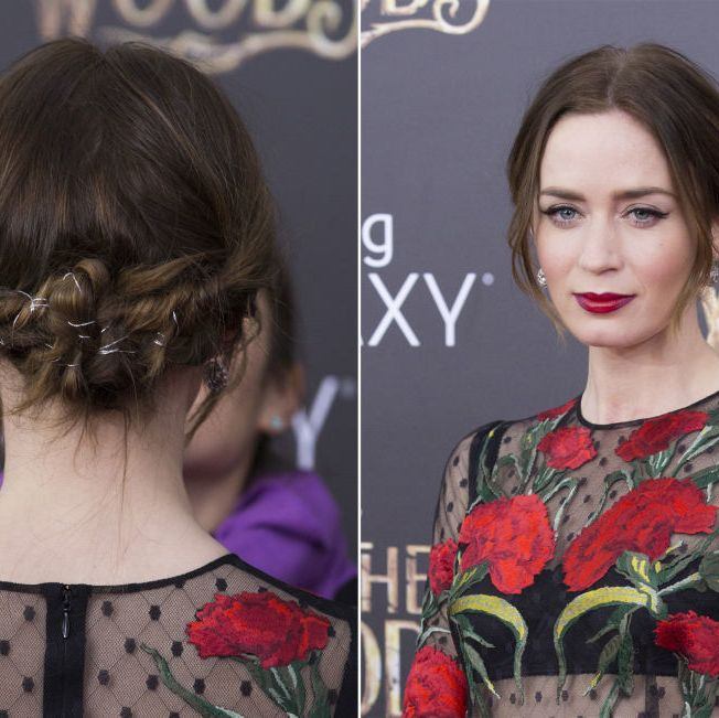 Emily Blunt party hair inspiration - and how to recreate the hairstyles - best celebrity party hairstyles 2014