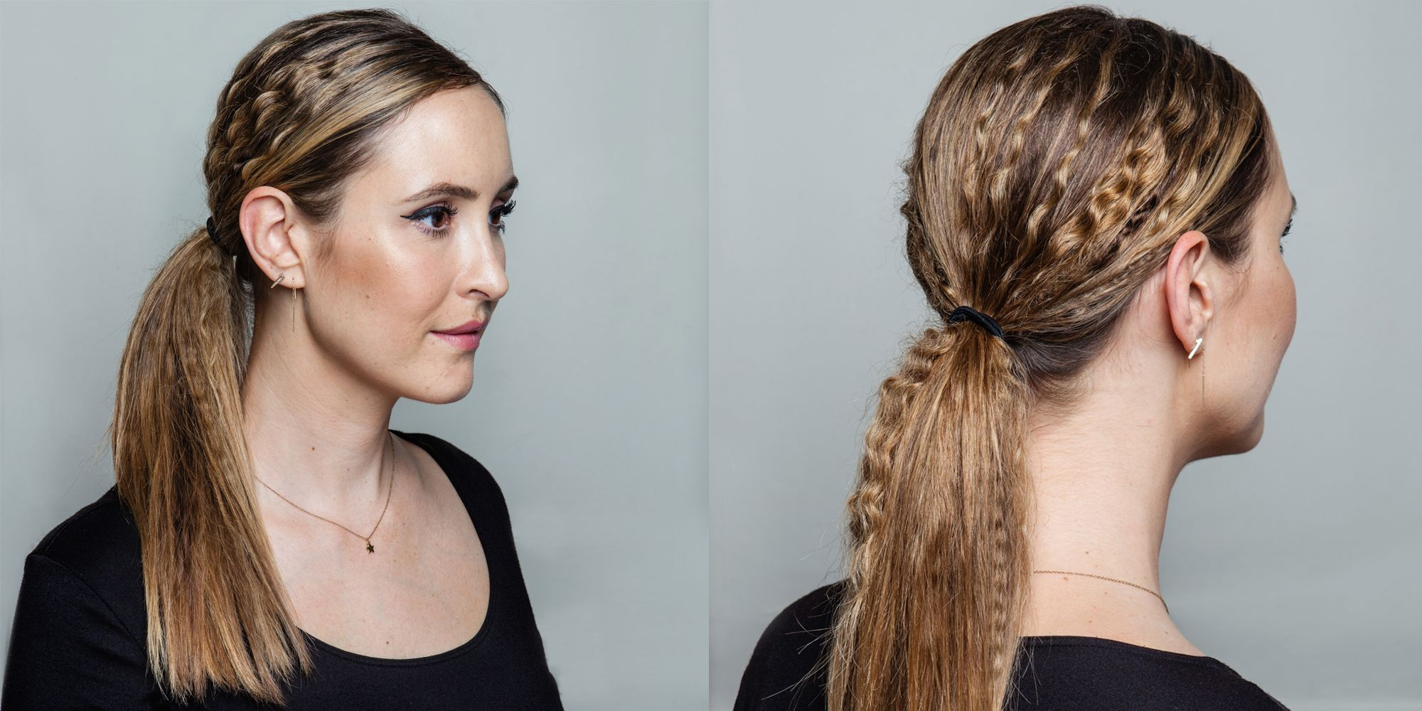 Hair How To A Crimped Ponytail