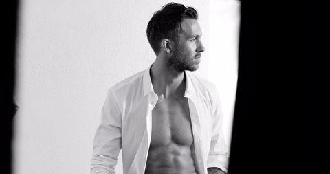 7e87288ec2 Calvin Harris  shirtless Armani advert features SO many abs