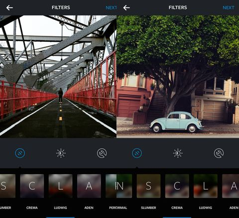 Instagram launches FIVE new filters with very weird names