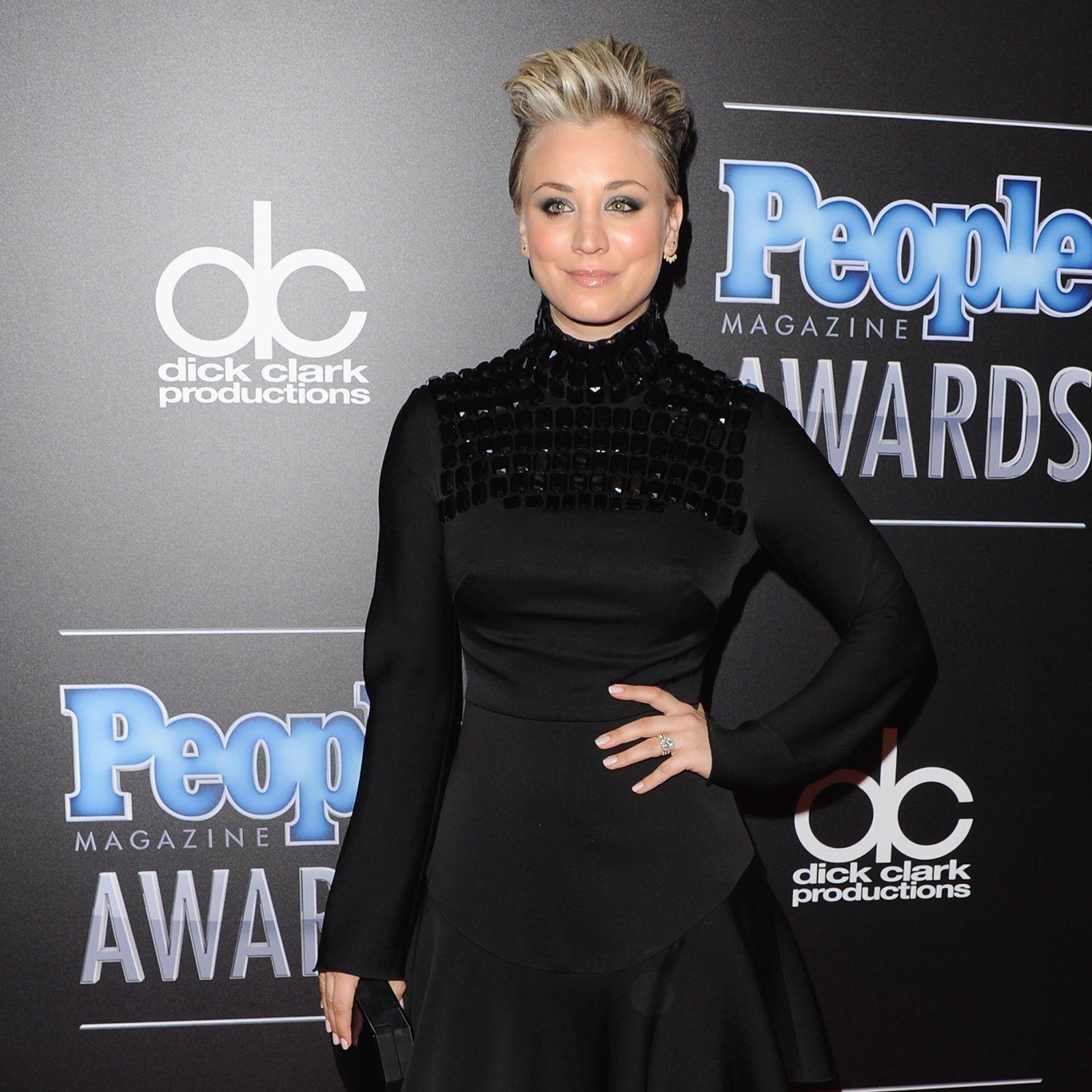 People Magazine Awards 2014: Kaley Cuoco-Sweeting