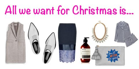 All the Cosmo fashion team want for Christmas is