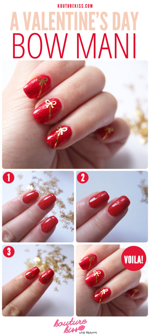 Christmas nails 14 easy festive nail art designs for 2017 if you want your nails to look like prezzies do this prinsesfo Images