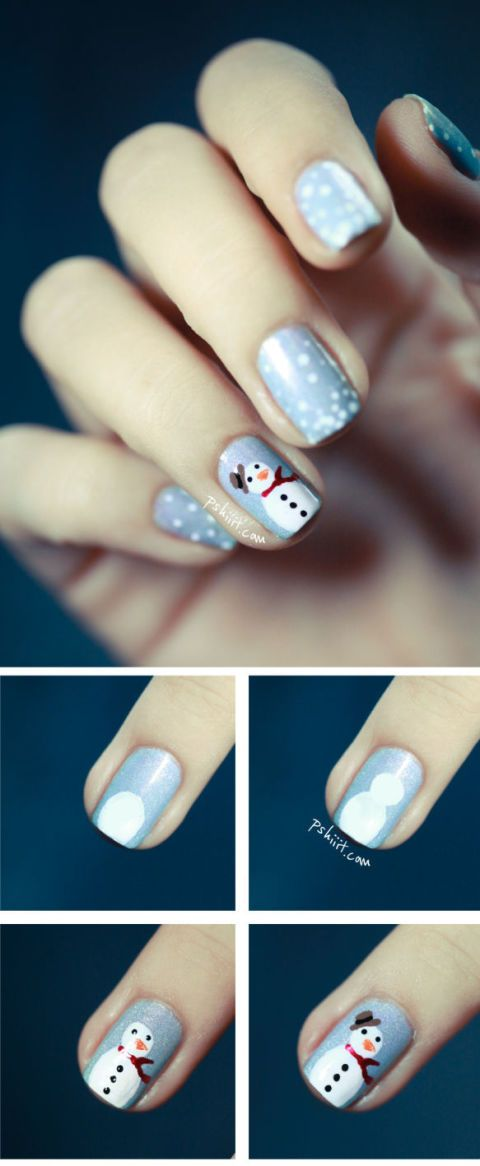 image - Christmas Nails - 14 Easy Festive Nail Art Designs For 2017