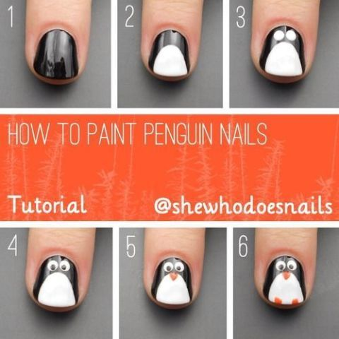Nail Art Tutorials | Christmas Nails 14 Easy Festive Nail Art Designs For 2017