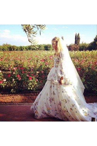 Earlier in the year we decided Poppy Delevingne's UK wedding dress was the best we've ever seen, but then we saw the dress she wore on the Moroccan leg of her wedding and we were proved oh-so-wrong.