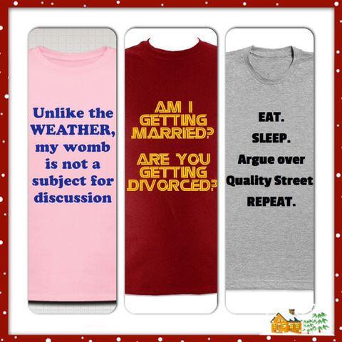 Christmas tshirts we wish existed