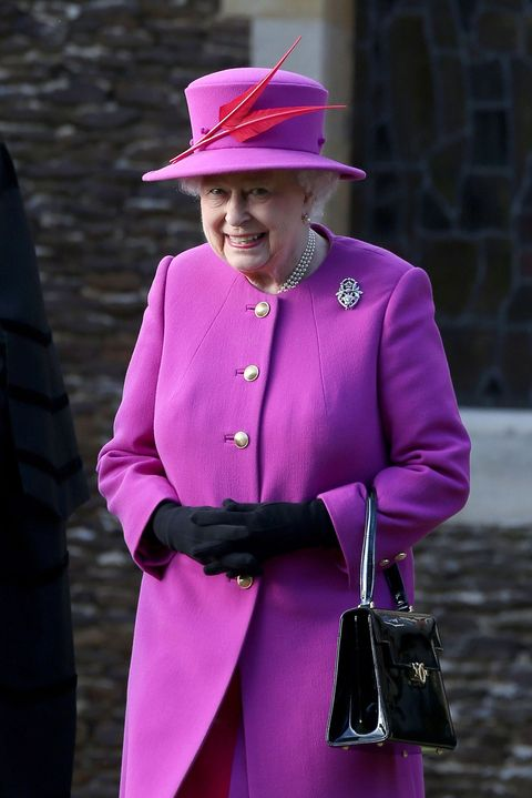 The Queen on Christmas