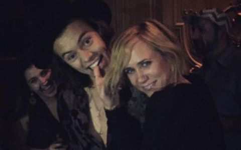 Here's Harry Styles and Kristen Wiig doing Dirty Dancing at the SNL after party