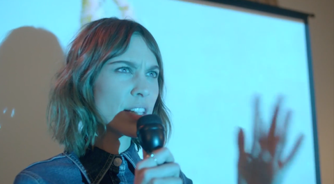 Alexa Chung shows off her lovely voice in this Stevie Nicks cover