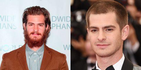 Beard or no beard - Andrew Garfield