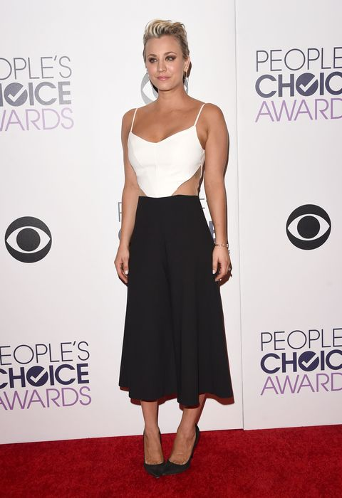 People's Choice Awards 2015 - Kaley Cuoco