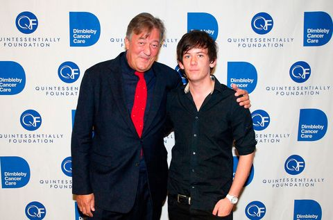 Stephen Fry confirms he is set to marry Elliott Spencer