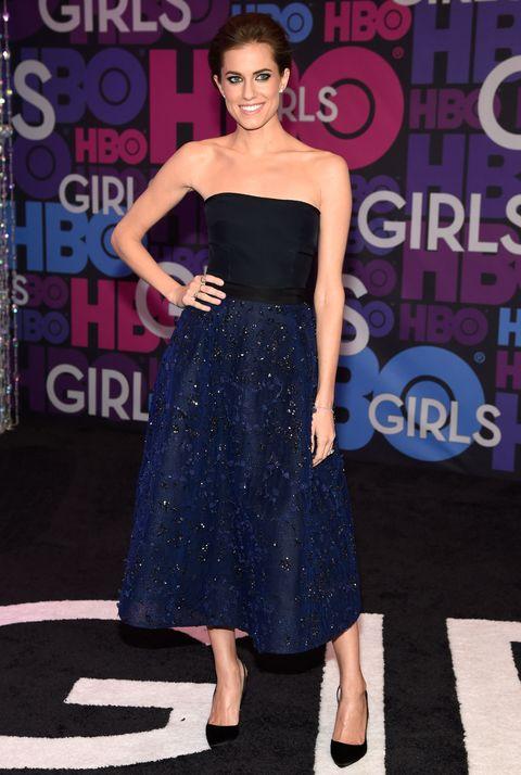 Allison Williams at the Girls season 4 premiere
