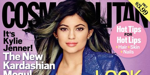 Kylie Jenner Cosmo US cover