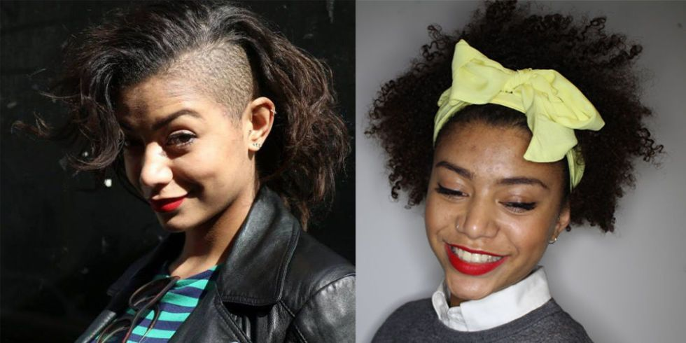 The curly girls\u0027 guide to growing out an undercut