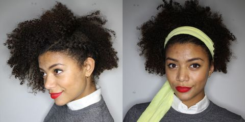 Growing out Afro undercut tips