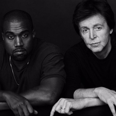 Some people think Kanye West discovered Paul McCartney
