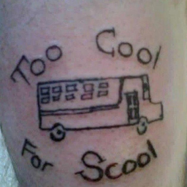No Regrets Tattoo Fail Tattoo Collections - 24 funniest tattoo fails