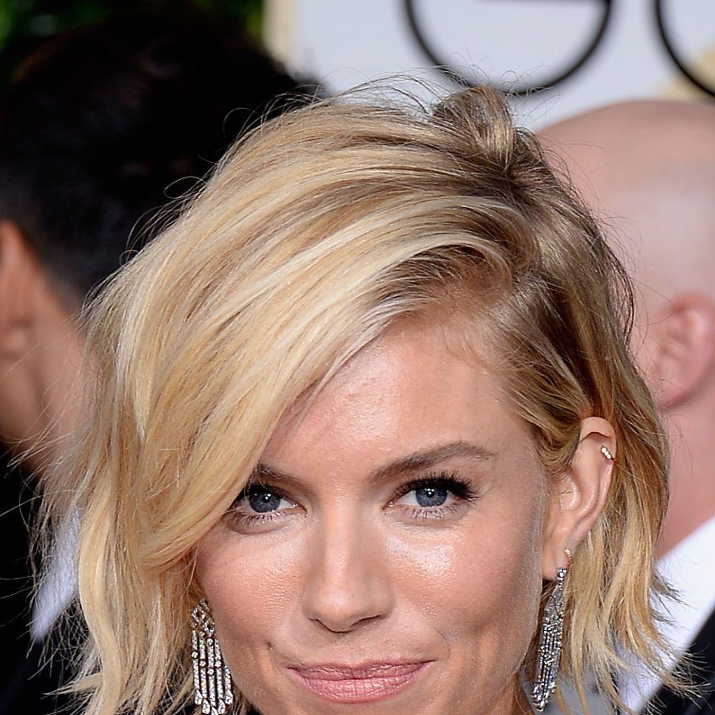 Sienna Miller Golden Globes 2015 beauty looks
