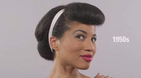 100 years of black hair in less than a minute