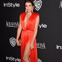 Lea Michele at the Golden Globes Instyle after party