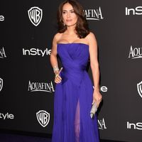 Salma Hayek at the Golden Globes Instyle after party
