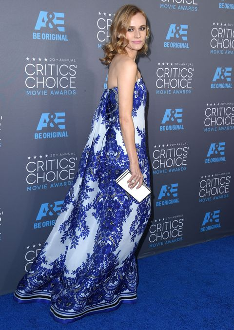 Diane Kruger at the 2015 Critics Choice Awards