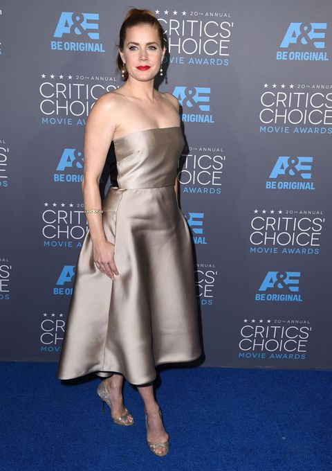 Amy Adams at the 2015 Critics Choice Awards