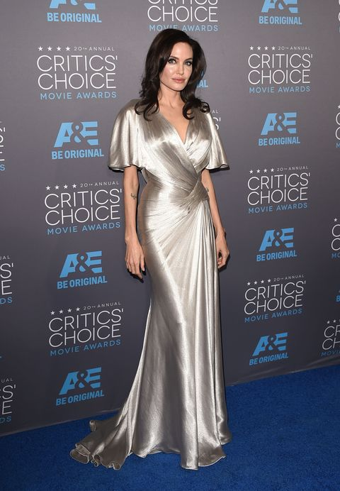 Angelina Jolie at the 2015 Critics Choice Awards