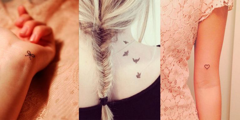 25 Of The Best Small Tattoos