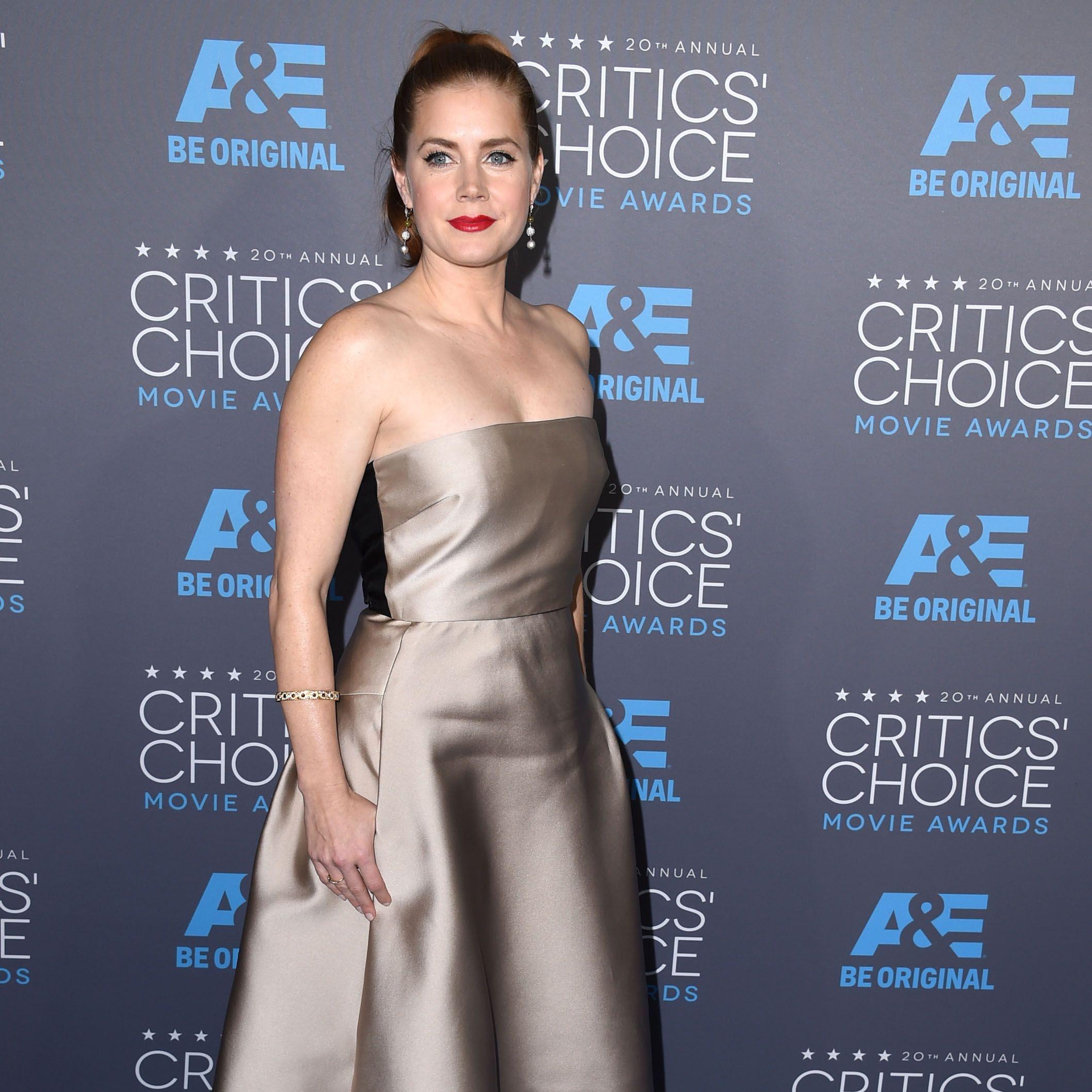 Amy Adams at the 2015 Critics Choice Awards