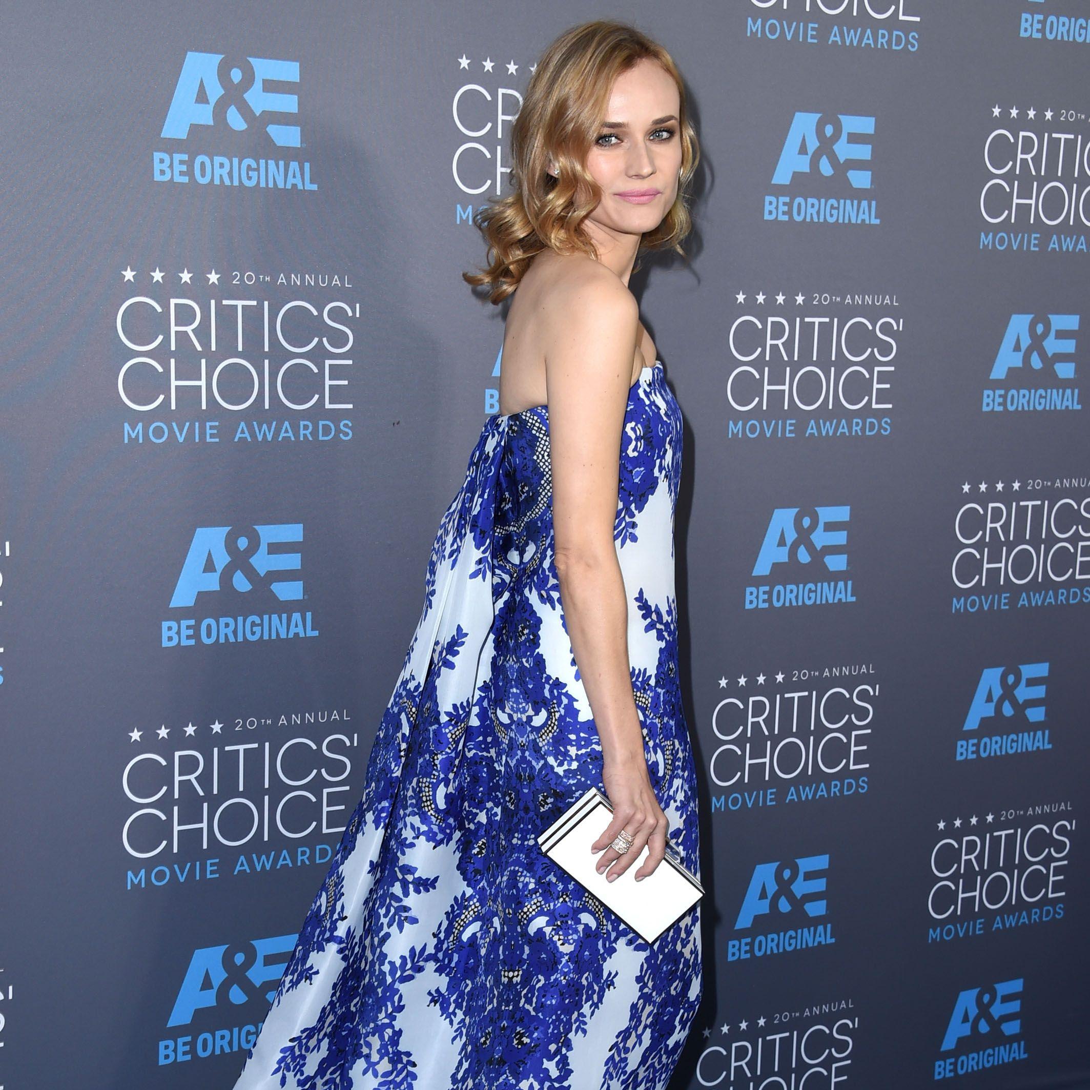 Diane Kruger at the 2015 Critics Choice Awards