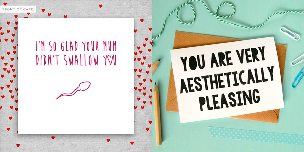 14 quirky Valentines cards for people that dont DO romance – Corny Valentines Card