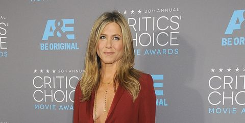 Jennifer Aniston at the 2015 Critics Choice Awards