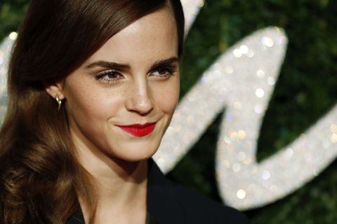 Emma Watson At The British Fashion Awards