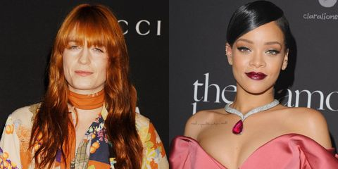 Rihanna seems to have a new song featuring Florence Welch