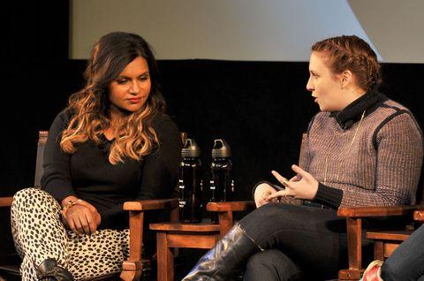 Mindy Kaling and Lena Dunham at Sundance Film Festival