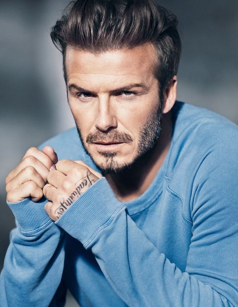 David Beckham's smoulder is the most intense thing EVER